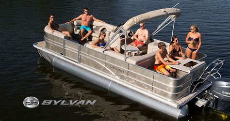 Sylvan Boats Top Speed sylvan pontoon boat dealer near burlington vermont