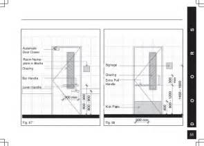 Ada Restroom Sign Height Requirements by Barrier Free Built Environment