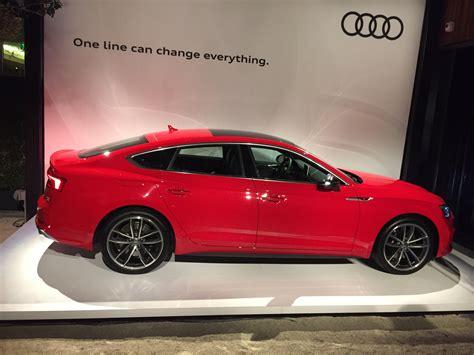 2018 Audi S5 Sportback Automotive Rhythms