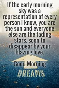 Good Morning Lo... Nicewith Love Quotes