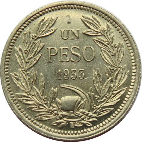 1 Peso Chile Numista