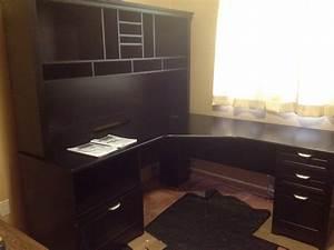 Magellan Shaped Desk Hutch Bundle Whitevan Excellent Magellan L Shaped Desk
