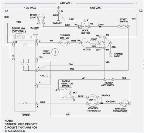 frigidaire gallery dryer timer wiring diagram