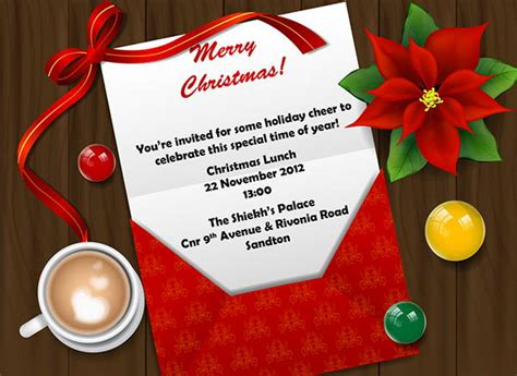 employee holiday luncheon invitation template 15 team lunch invitations jpg vector eps ai illustrator free premium templates