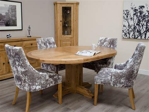 Vintage modern / retro / danish style. Deluxe Oak Round Extending Dining Table - Freitaslaf Net LTD - Freitaslaf Net LTD