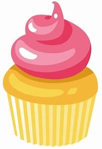 Vanilla Cupcake clipart cute cupcake - Pencil and in color ...