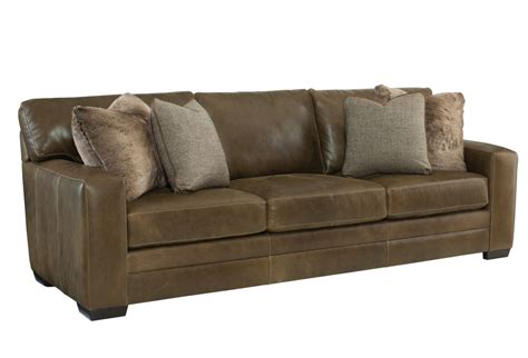 leather baseball stitch sofa alpine home furnishings