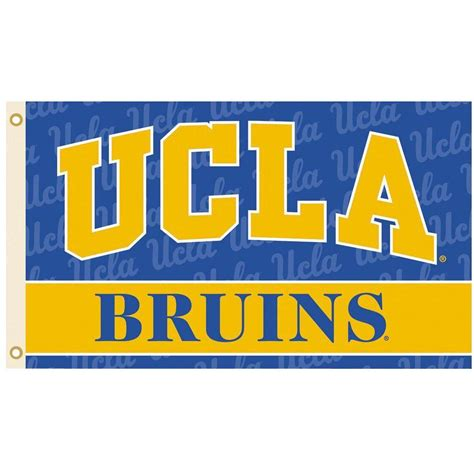 bsi products ncaa 3 ft x 5 ft ucla flag 95053 the home