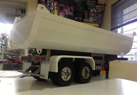 rc page tipper truck  ready  production
