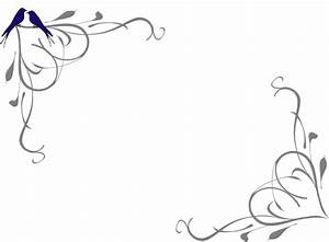 Wedding Corner Border Clipart | Free download on ClipArtMag