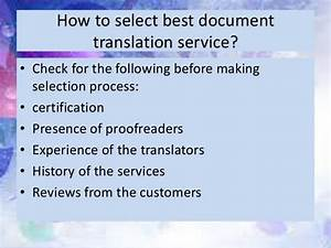 document translation services With document language translation services