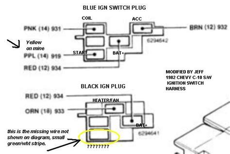 Chevy Truck Ignition Switch Wiring Diagram by 1972 Chevy Truck Ignition Wiring Diagram Diagram Auto