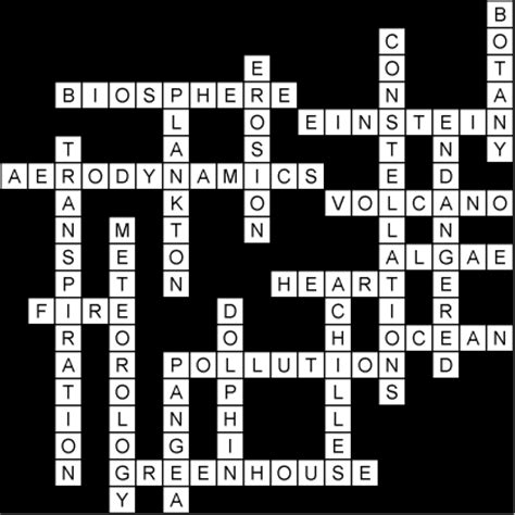 scientifically speaking crossword answer key games