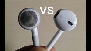 Comparison Between Apple Earpods And Old Apple Headphones