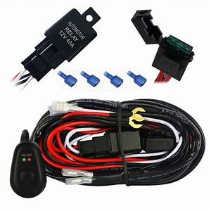 Mictuning 12ft Wiring Harness Kit For Off Road Led Light