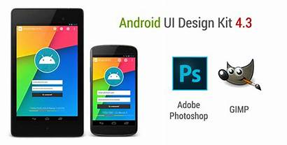 Android Ui Gimp Photoshop Fribly Kit Interface