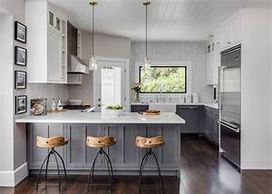Design Your Own Gray and White Kitchen - HomeStyleDiary com