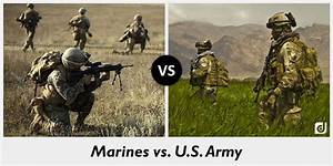 Difference between Marines and U.S. Army