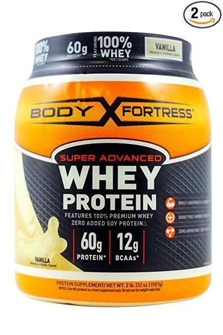 Body Fortress Super Advanced Vanilla Whey Protein - Clean