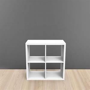 Bibliothèque 4 Cases : etag re de bureau 4 cases bois adjust mob in ~ Teatrodelosmanantiales.com Idées de Décoration