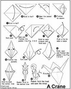 Origami Crane Drawing At Getdrawings