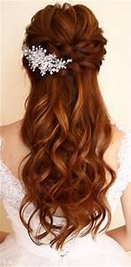 20 Amazing Half Up Half Down Wedding Hairstyle Ideas