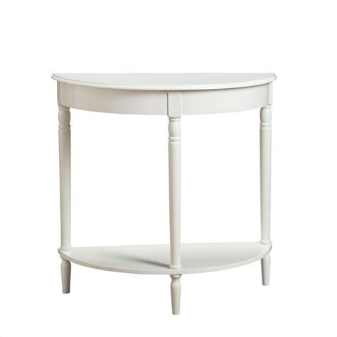 convenience concepts french country entryway table convenience concepts french country entryway white