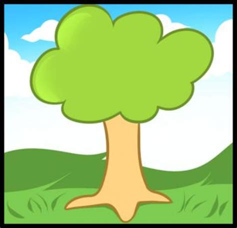 how to draw how to draw a tree for hellokids