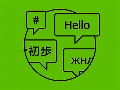 Language Languages Branding Dribbble