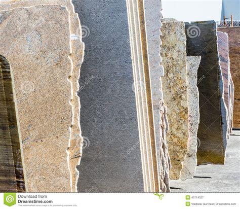 granite slabs stock photo image 40714327