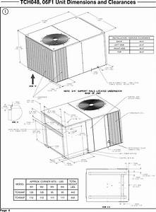Trane Package Units Both Units Combined  Manual L0903057