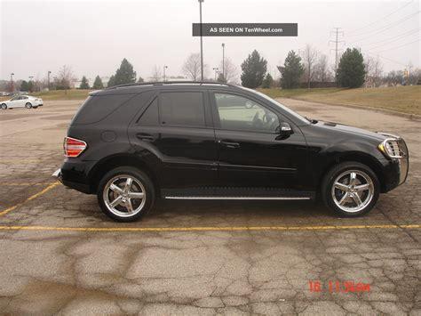 benz jeep black 2007 mercedes benz ml350 black suv 4 door 3 5l 20
