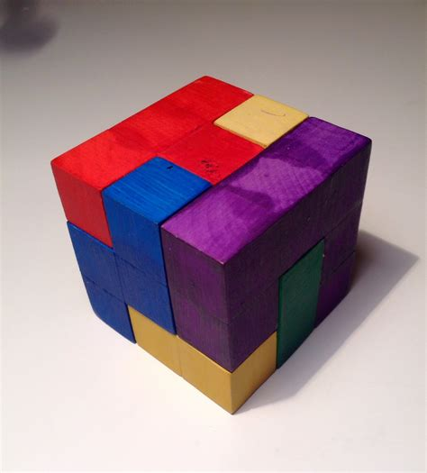 Wooden Puzzle Cube - Instructables