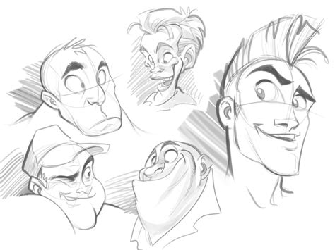 How To Draw A Cartoon Face Correctly