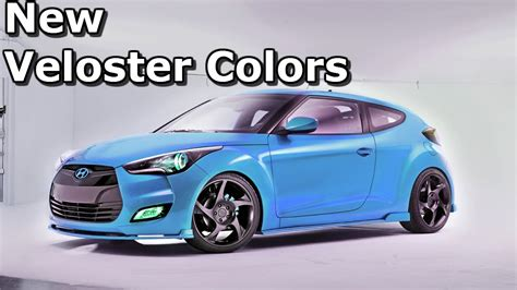 New Colors Unveiled For Hyundai Veloster? Youtube