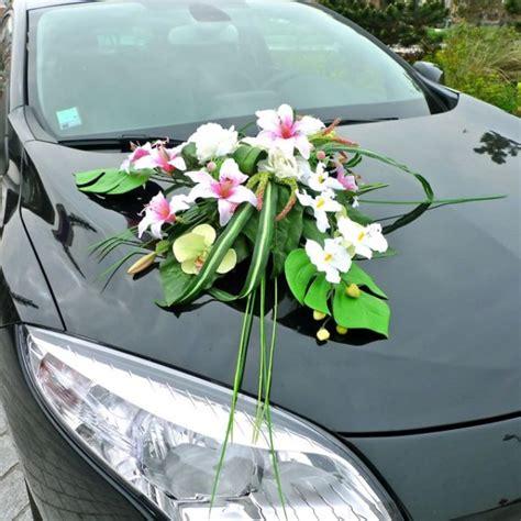 pin voiture de mari 195 169 e en fleurs artificielles d 195 169 coration on