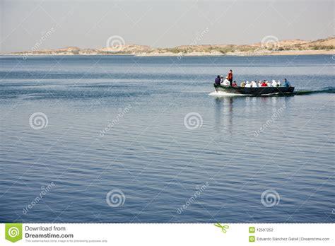 Lake Nasser Boats by Boat On Lake Nasser Stock Photography Image 12597252