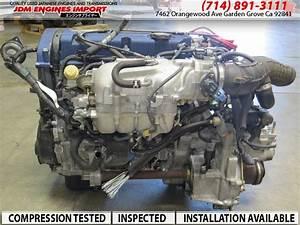 Jdm F20b Honda Accord Prelude 2 0l Dohc Vtec Engine 5 Spd
