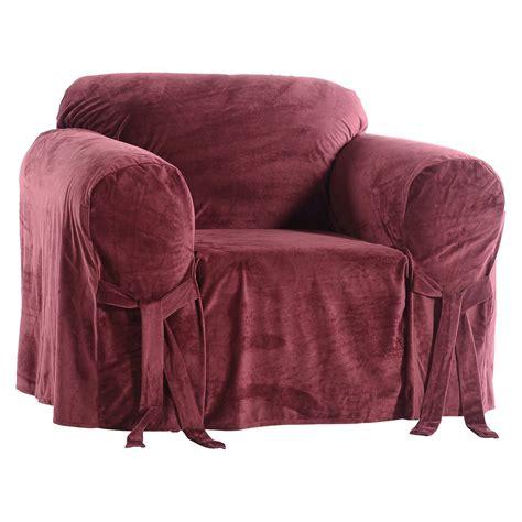 recliner chair covers target microfiber velvet slipcover chair ebay