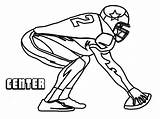 Football Coloring Pages Player Dallas Cowboys Nfl Printable Outline Center Sports Printables Boys Clipartmag Cartoon Helmet Heroes Mario Filminspector Yescoloring sketch template