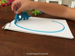 dinosaur letter tracing for preschoolers With letter tracing toy