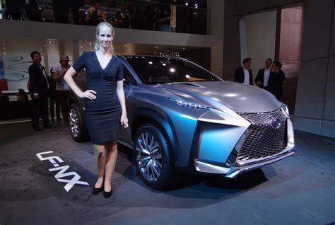 Lexus Lfnx Concept Live Photos 2013 Frankfurt Auto Show