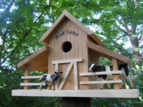 birdhouse  barn house folk art primitives blue jay bird house bird house plans bird