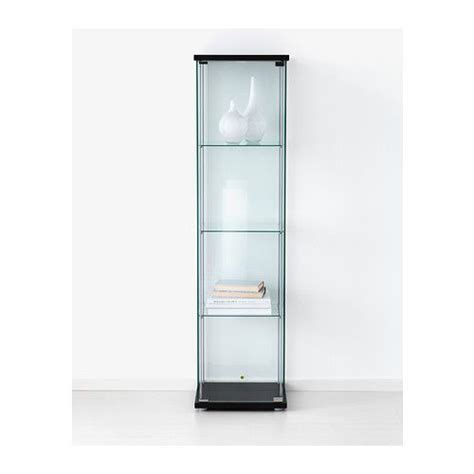 ikea detolf cabinet uk detolf glass door cabinet black brown a well the nerds