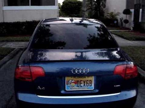 Audi A4 B7 Custom Led Tail & Brake Lightswmv Youtube