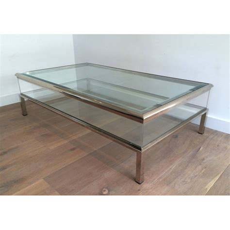 vitrine basse en verre table basse vitrine but ezooq