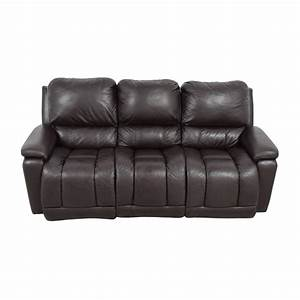 Used reclining sofa 80 off kathy ireland home by raymour for Used sectional sofa with recliner