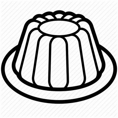 Clipart Jelly Cold Dessert Coloring Pudding Transparent