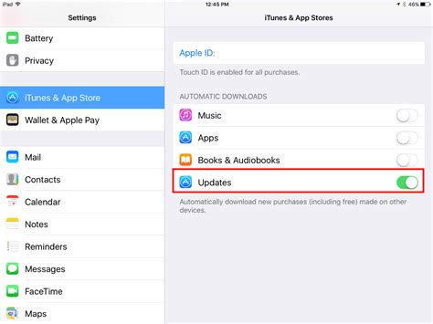 turn automatic updates iphone how to turn on automatic app updates on the iphone