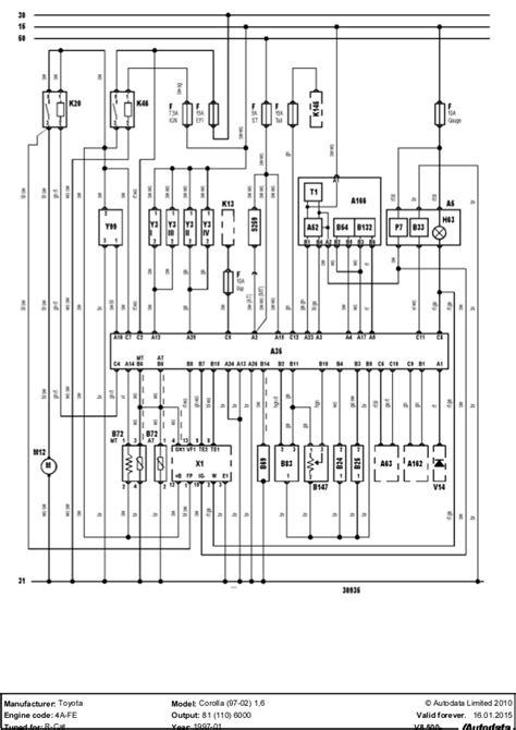 toyota corolla 1 6 ecu wiring